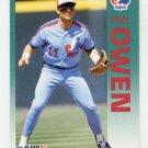 1992 Fleer Baseball #488 Spike Owen - Montreal Expos