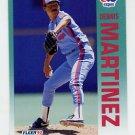 1992 Fleer Baseball #486 Dennis Martinez - Montreal Expos