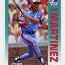 1992 Fleer Baseball #485 Dave Martinez - Montreal Expos