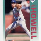 1992 Fleer Baseball #460 Jay Howell - Los Angeles Dodgers