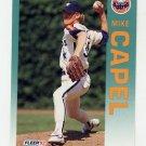 1992 Fleer Baseball #429 Mike Capel - Houston Astros