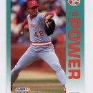 1992 Fleer Baseball #416 Ted Power - Cincinnati Reds