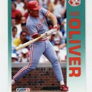 1992 Fleer Baseball #414 Joe Oliver - Cincinnati Reds