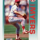 1992 Fleer Baseball #413 Randy Myers - Cincinnati Reds