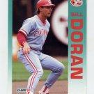 1992 Fleer Baseball #405 Bill Doran - Cincinnati Reds