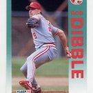 1992 Fleer Baseball #404 Rob Dibble - Cincinnati Reds
