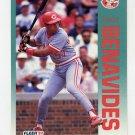1992 Fleer Baseball #399 Freddie Benavides - Cincinnati Reds