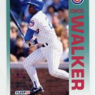 1992 Fleer Baseball #395 Chico Walker - Chicago Cubs