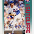 1992 Fleer Baseball #393 Rick Sutcliffe - Chicago Cubs
