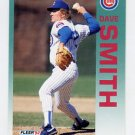 1992 Fleer Baseball #391 Dave Smith - Chicago Cubs