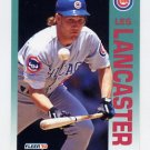 1992 Fleer Baseball #384 Les Lancaster - Chicago Cubs