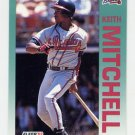 1992 Fleer Baseball #364 Keith Mitchell - Atlanta Braves