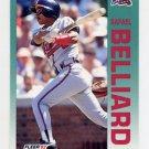 1992 Fleer Baseball #351 Rafael Belliard - Atlanta Braves