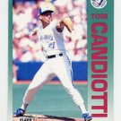 1992 Fleer Baseball #326 Tom Candiotti - Toronto Blue Jays