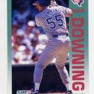 1992 Fleer Baseball #302 Brian Downing - Texas Rangers