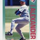 1992 Fleer Baseball #297 Gerald Alexander - Texas Rangers