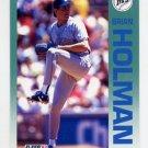 1992 Fleer Baseball #281 Brian Holman - Seattle Mariners