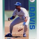 1992 Fleer Baseball #277 Alvin Davis - Seattle Mariners