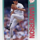 1992 Fleer Baseball #243 Scott Sanderson - New York Yankees