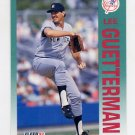 1992 Fleer Baseball #227 Lee Guetterman - New York Yankees
