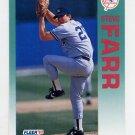 1992 Fleer Baseball #225 Steve Farr - New York Yankees