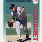 1992 Fleer Baseball #222 Greg Cadaret - New York Yankees