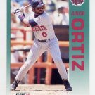 1992 Fleer Baseball #215 Junior Ortiz - Minnesota Twins