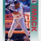 1992 Fleer Baseball #210 Shane Mack - Minnesota Twins