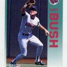1992 Fleer Baseball #198 Randy Bush - Minnesota Twins