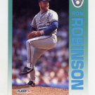 1992 Fleer Baseball #187 Ron Robinson - Milwaukee Brewers