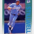 1992 Fleer Baseball #170 Kurt Stillwell - Kansas City Royals