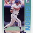 1992 Fleer Baseball #157 Kirk Gibson - Kansas City Royals