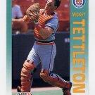 1992 Fleer Baseball #147 Mickey Tettleton - Detroit Tigers
