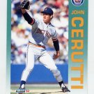 1992 Fleer Baseball #129 John Cerutti - Detroit Tigers