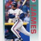 1992 Fleer Baseball #112 Chris James - Cleveland Indians