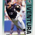 1992 Fleer Baseball #101 Robin Ventura - Chicago White Sox
