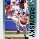 1992 Fleer Baseball #096 Scott Radinsky - Chicago White Sox