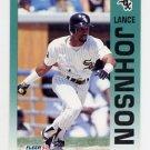 1992 Fleer Baseball #087 Lance Johnson - Chicago White Sox