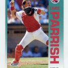 1992 Fleer Baseball #066 Lance Parrish - California Angels
