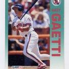 1992 Fleer Baseball #058 Gary Gaetti - California Angels