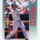 1992 Fleer Baseball #047 Jody Reed - Boston Red Sox