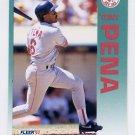 1992 Fleer Baseball #043 Tony Pena - Boston Red Sox