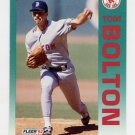 1992 Fleer Baseball #033 Tom Bolton - Boston Red Sox