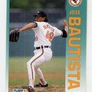 1992 Fleer Baseball #002 Jose Bautista - Baltimore Orioles