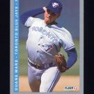 1993 Fleer Baseball #341 Duane Ward - Toronto Blue Jays