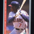 1993 Fleer Baseball #218 Kenny Lofton - Cleveland Indians