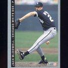 1993 Fleer Baseball #207 Jack McDowell - Chicago White Sox