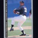 1993 Fleer Baseball #201 Alex Fernandez - Chicago White Sox