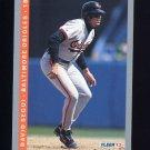 1993 Fleer Baseball #175 David Segui - Baltimore Orioles