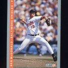 1993 Fleer Baseball #169 Ben McDonald - Baltimore Orioles